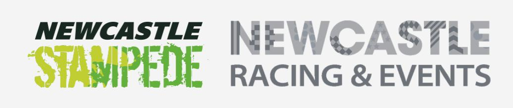 Newcastle Racecourse and Stampede logo