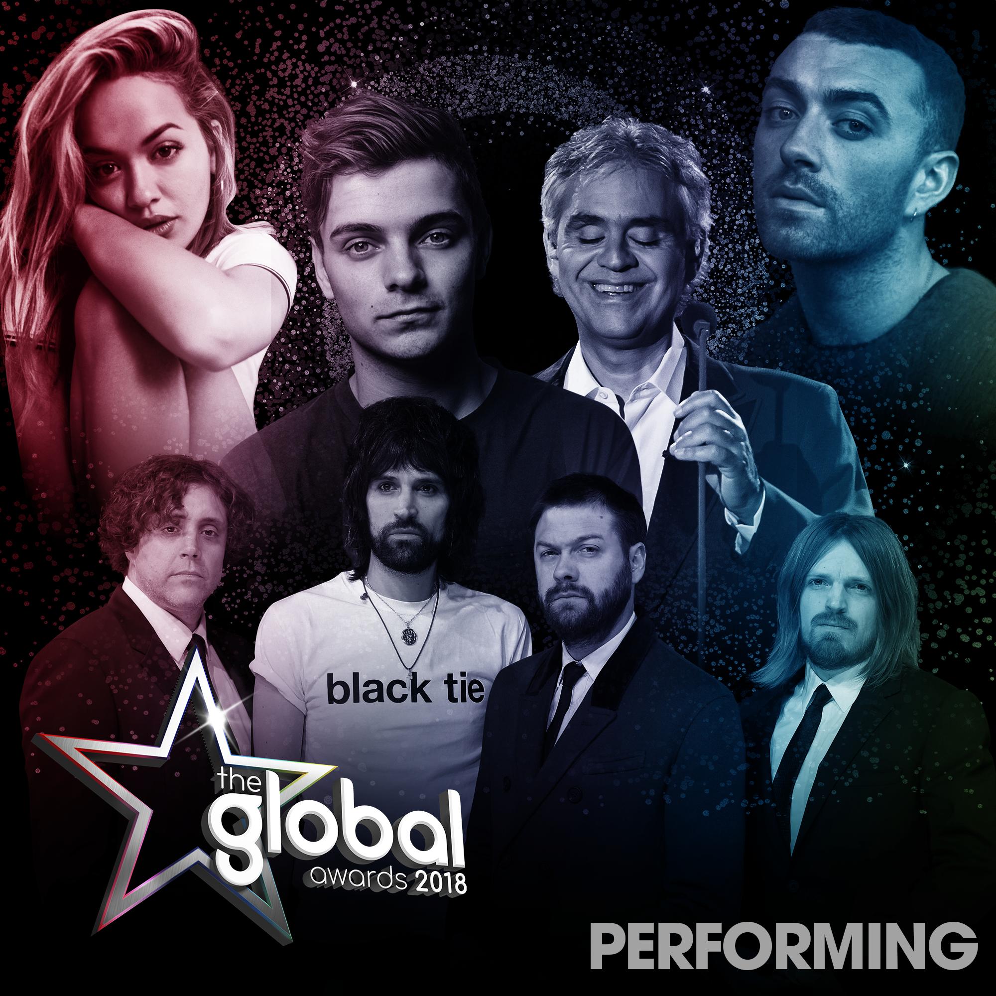 Global Awards 2018 Performers