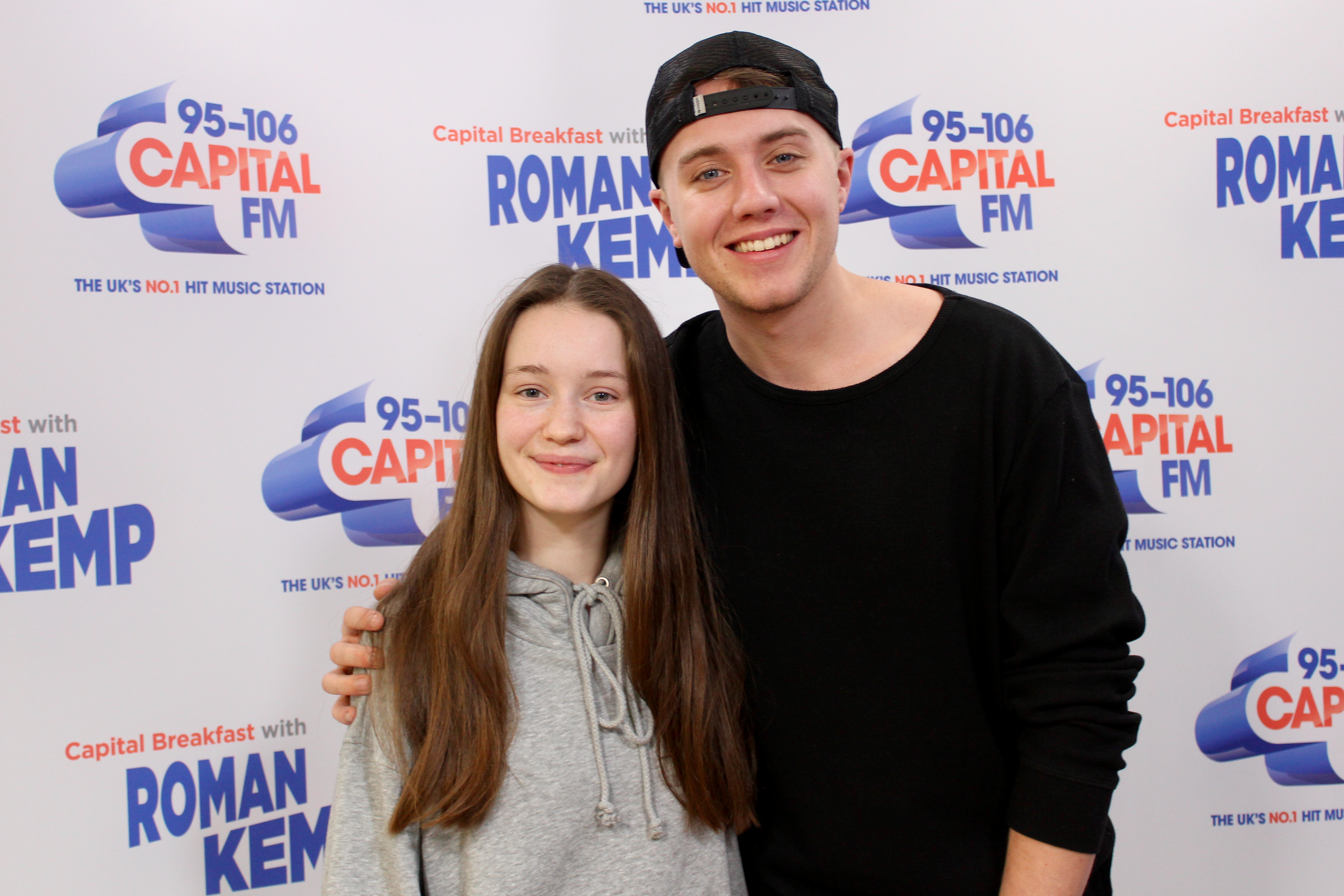 Sigrid on Capital Breakfast w/ Roman Kemp