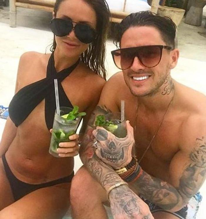 Stephen Bear and first Bali girl