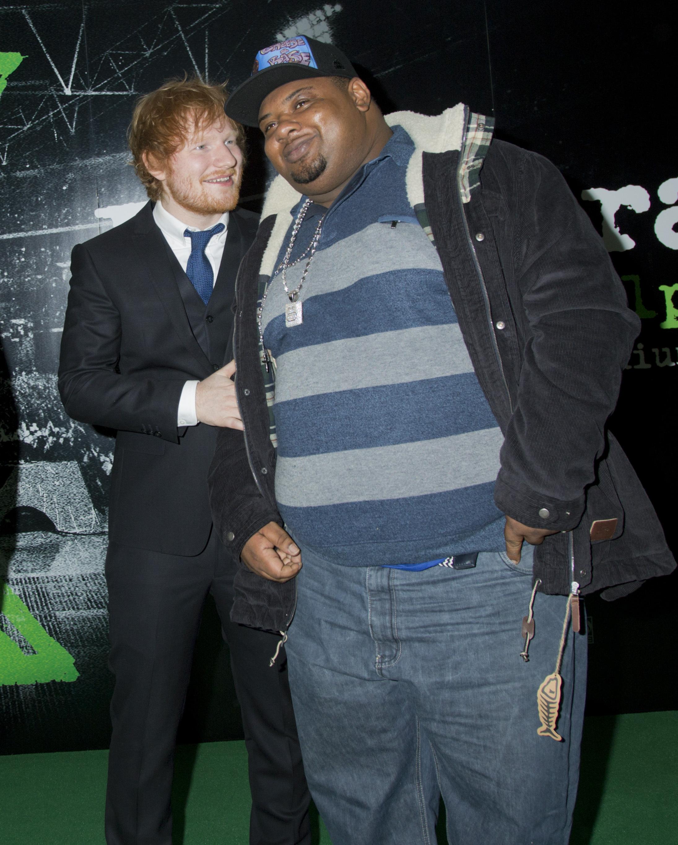Ed Sheeran and Big Narstie