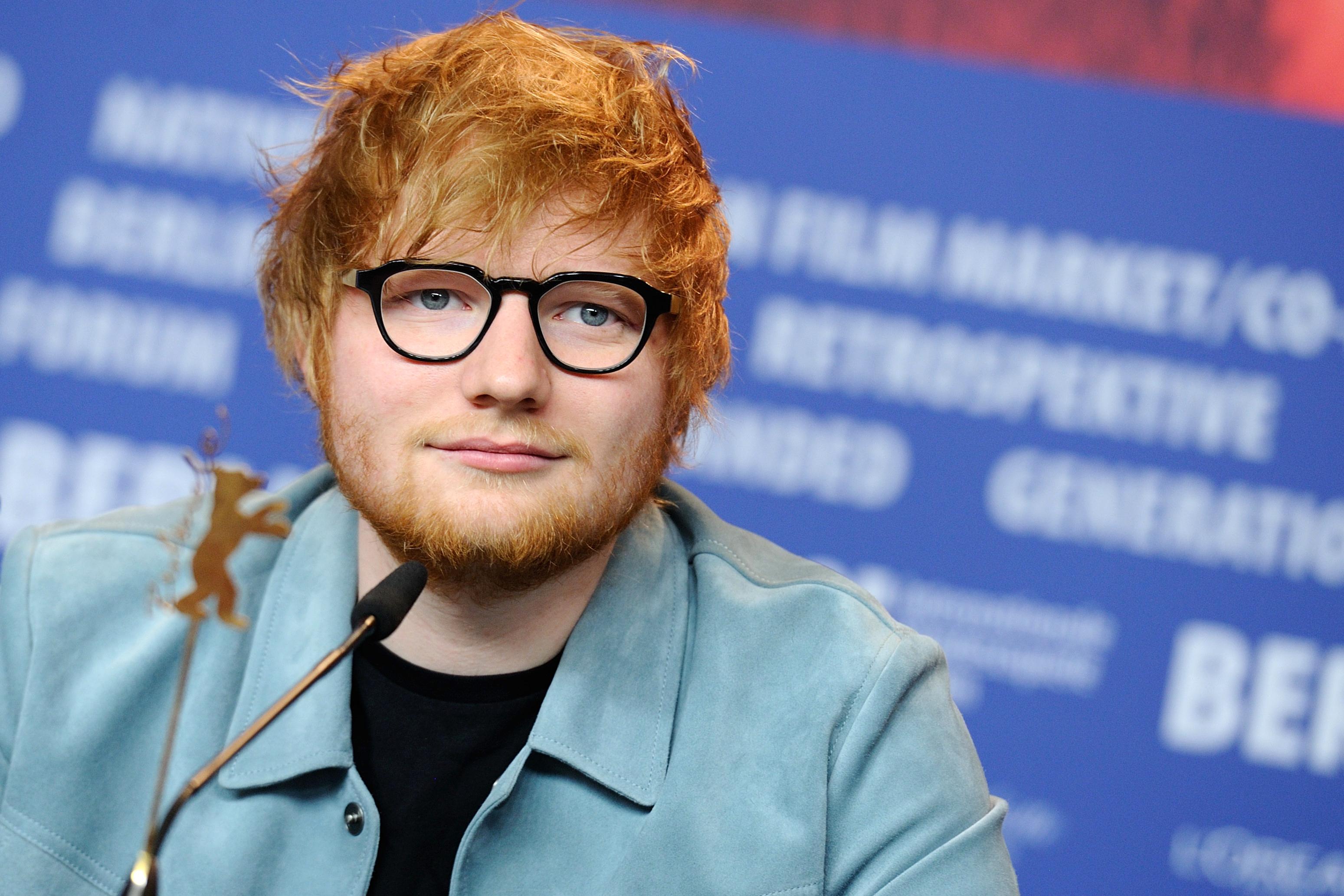 Ed Sheeran at the Berlin Film Festival
