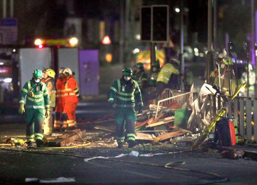 explosion Leicester hinckley