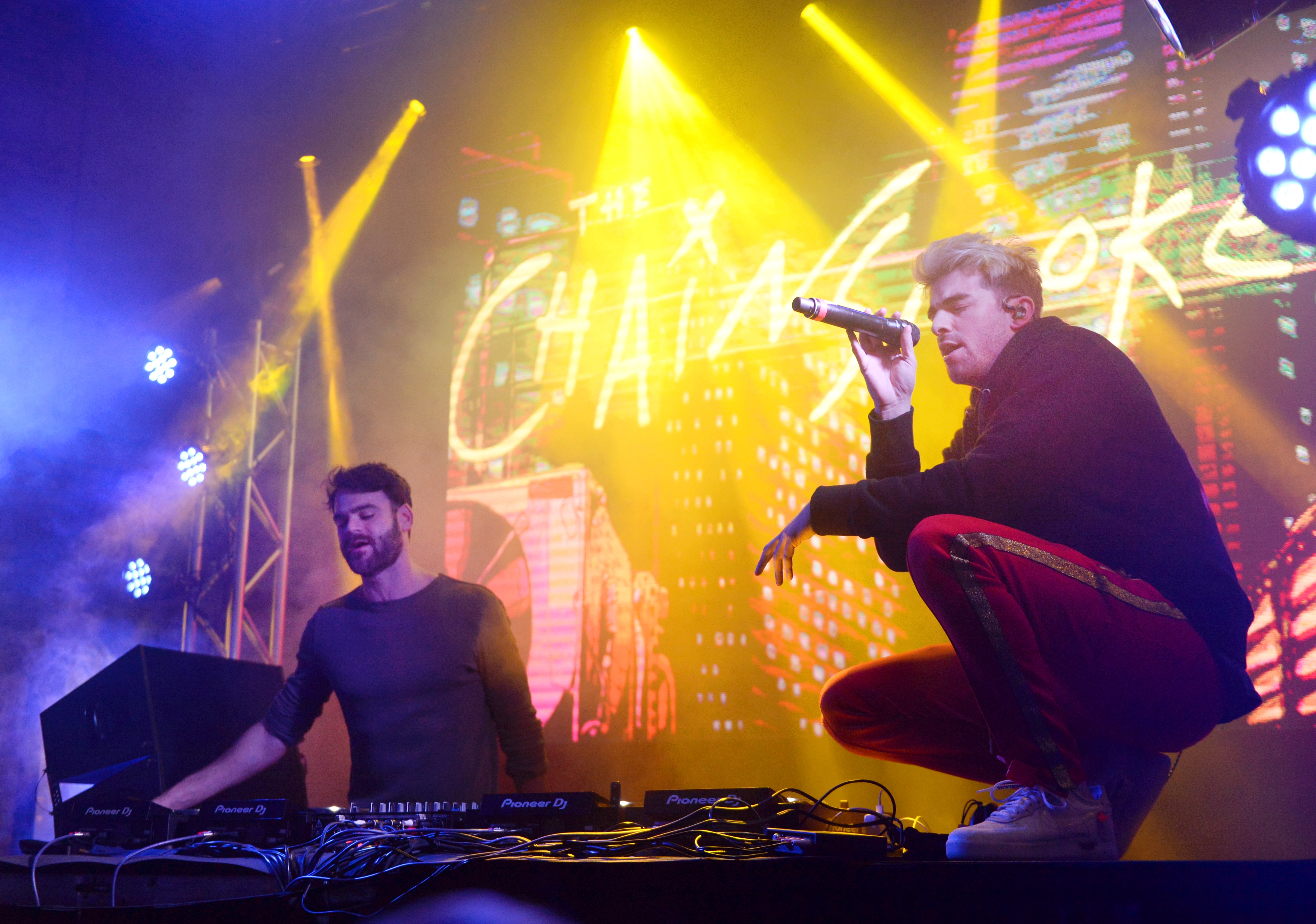 The Chainsmokers Fanatics Super Bowl Party