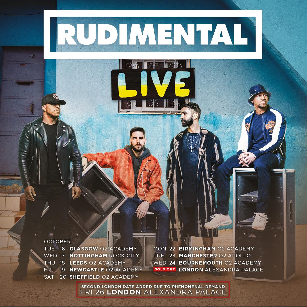 Rudimental Live 2018