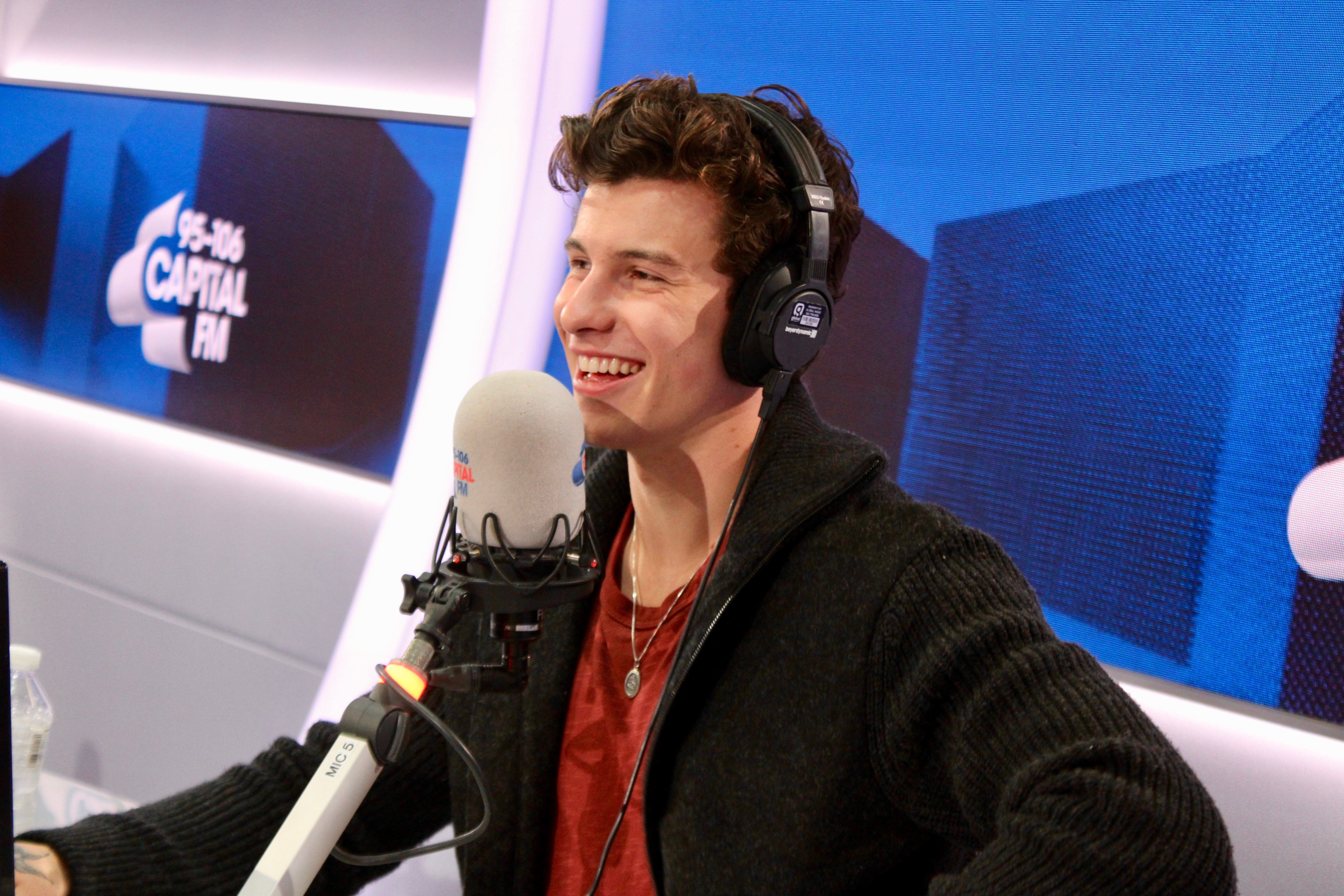 Shawn Mendes on Capital Breakfast with Roman Kemp