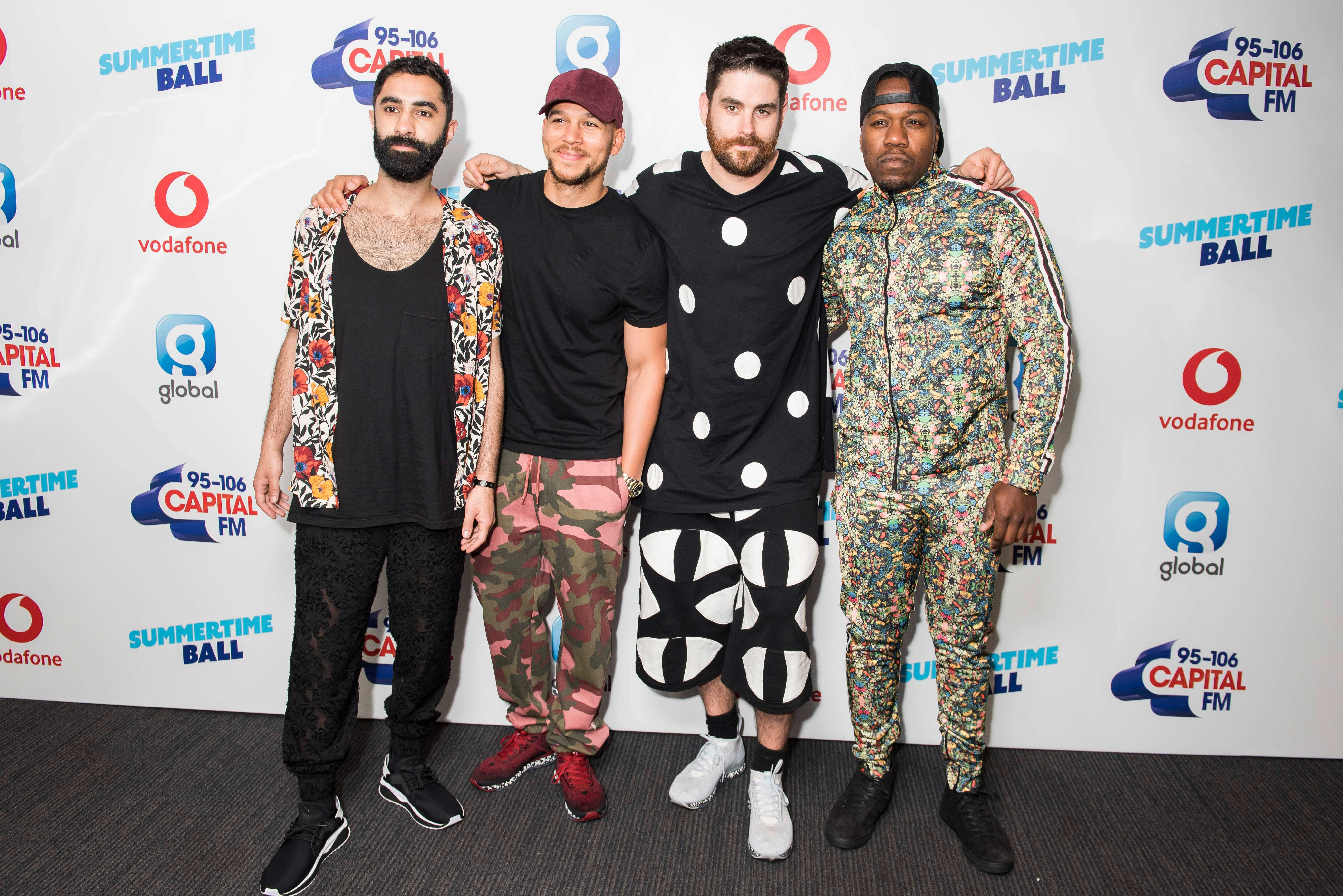 Rudimental Summertime Ball 2018 Red Carpet
