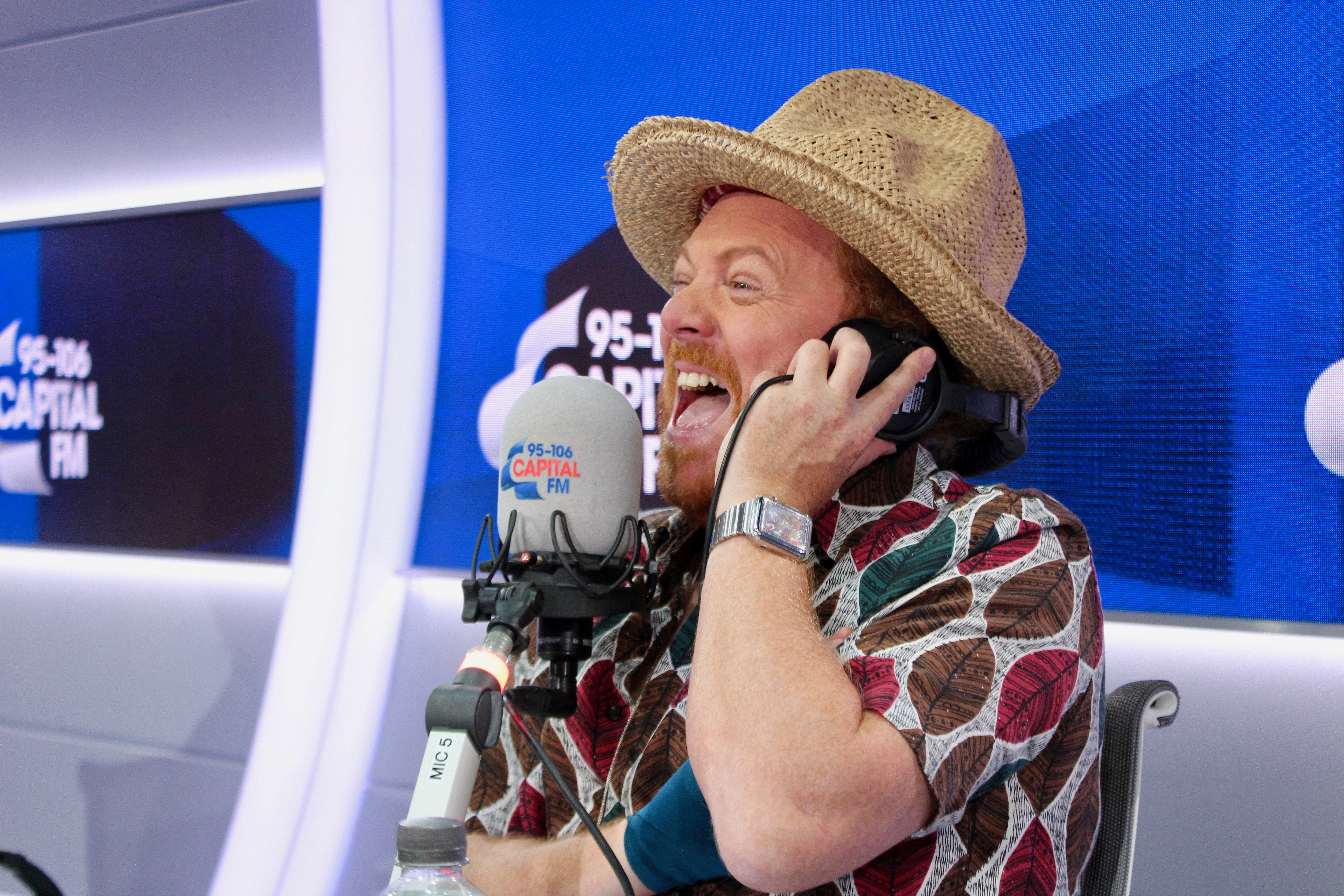 Keith Lemon on Capital w/ Roman Kemp and Vick Hope