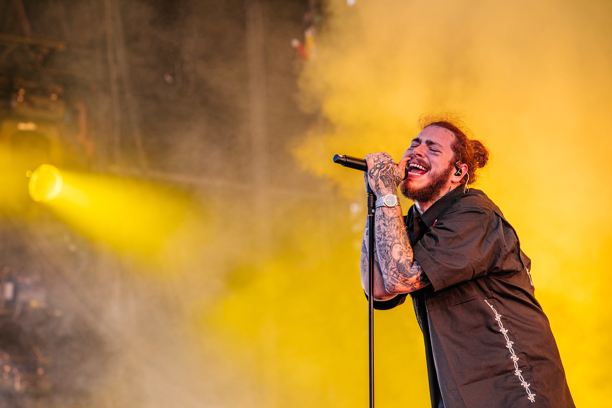 Post Malone at Wireless Festival