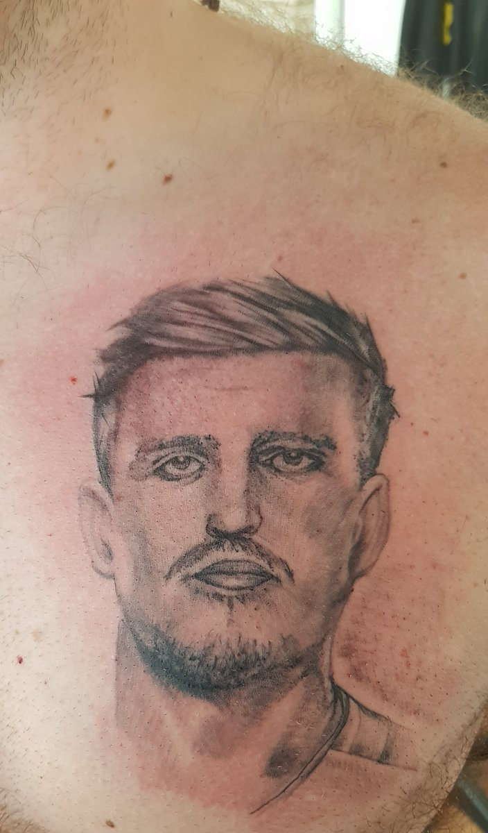 Harry Maguire tattoo