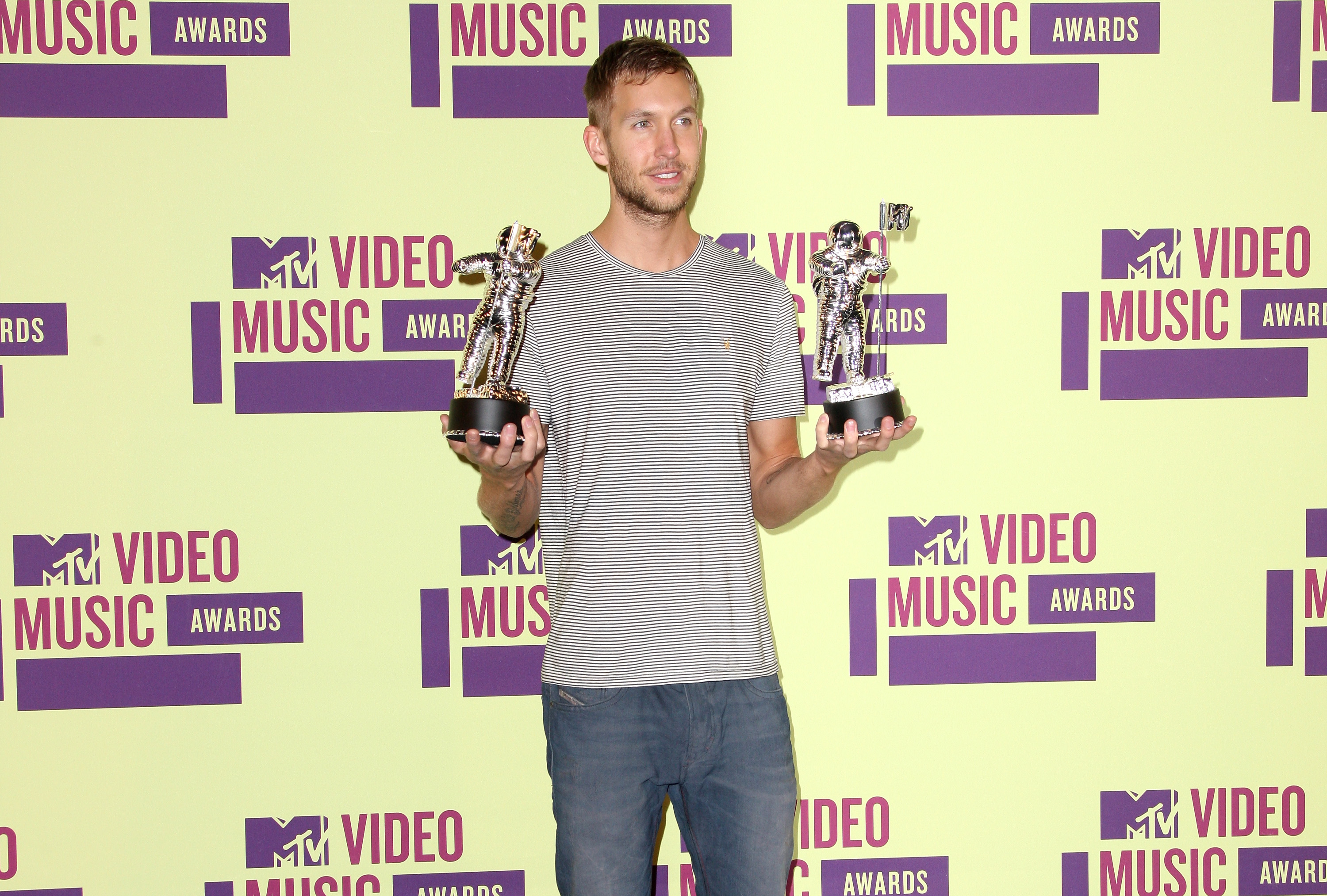 Calvin Harris 2012 MTV Video Music Awards
