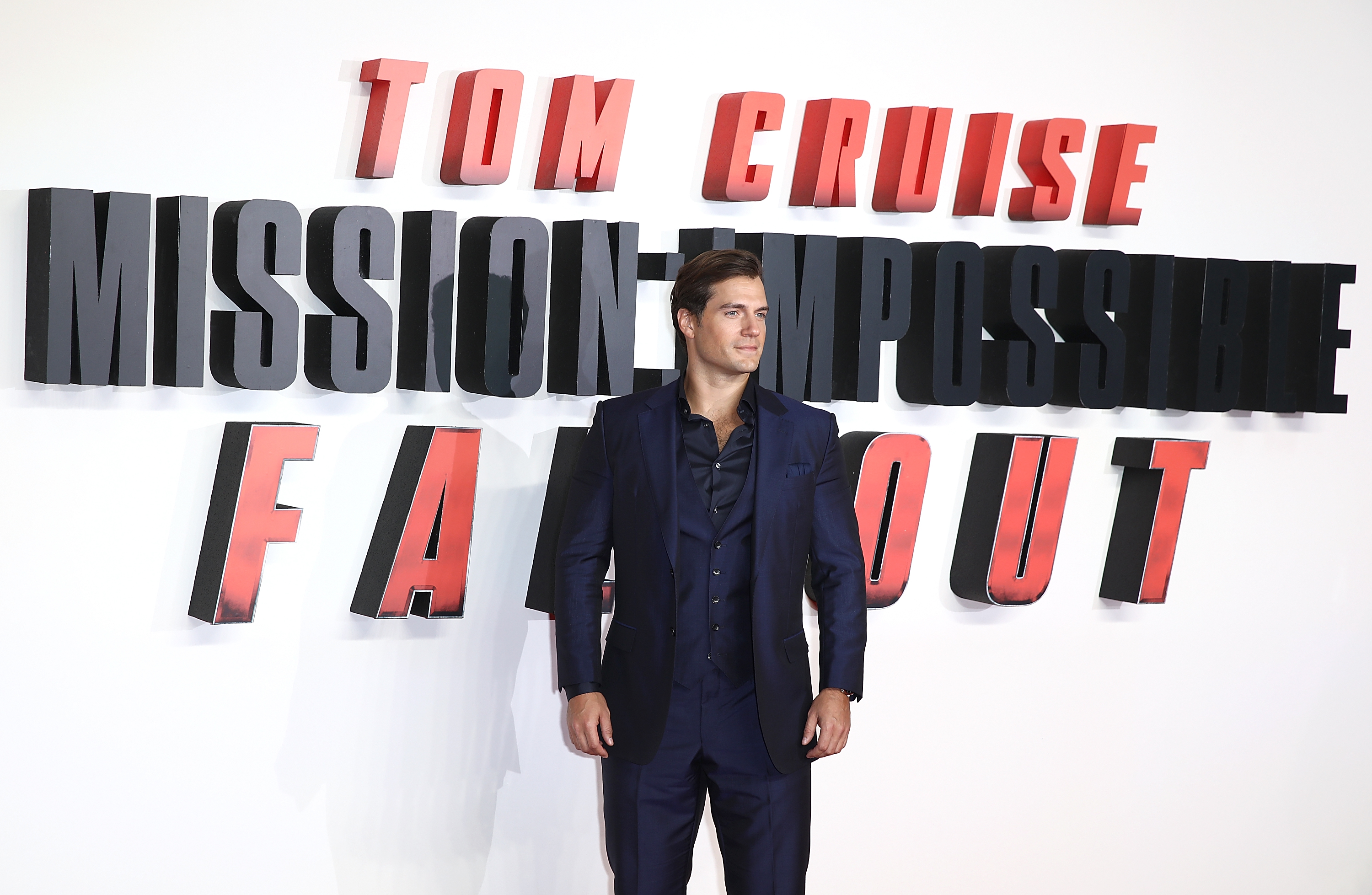 Henry Cavill 'Mission: Impossible - Fallout' UK Pr