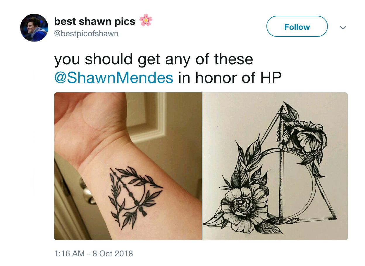 Shawn Mendes Fan Shares Tattoo Idea