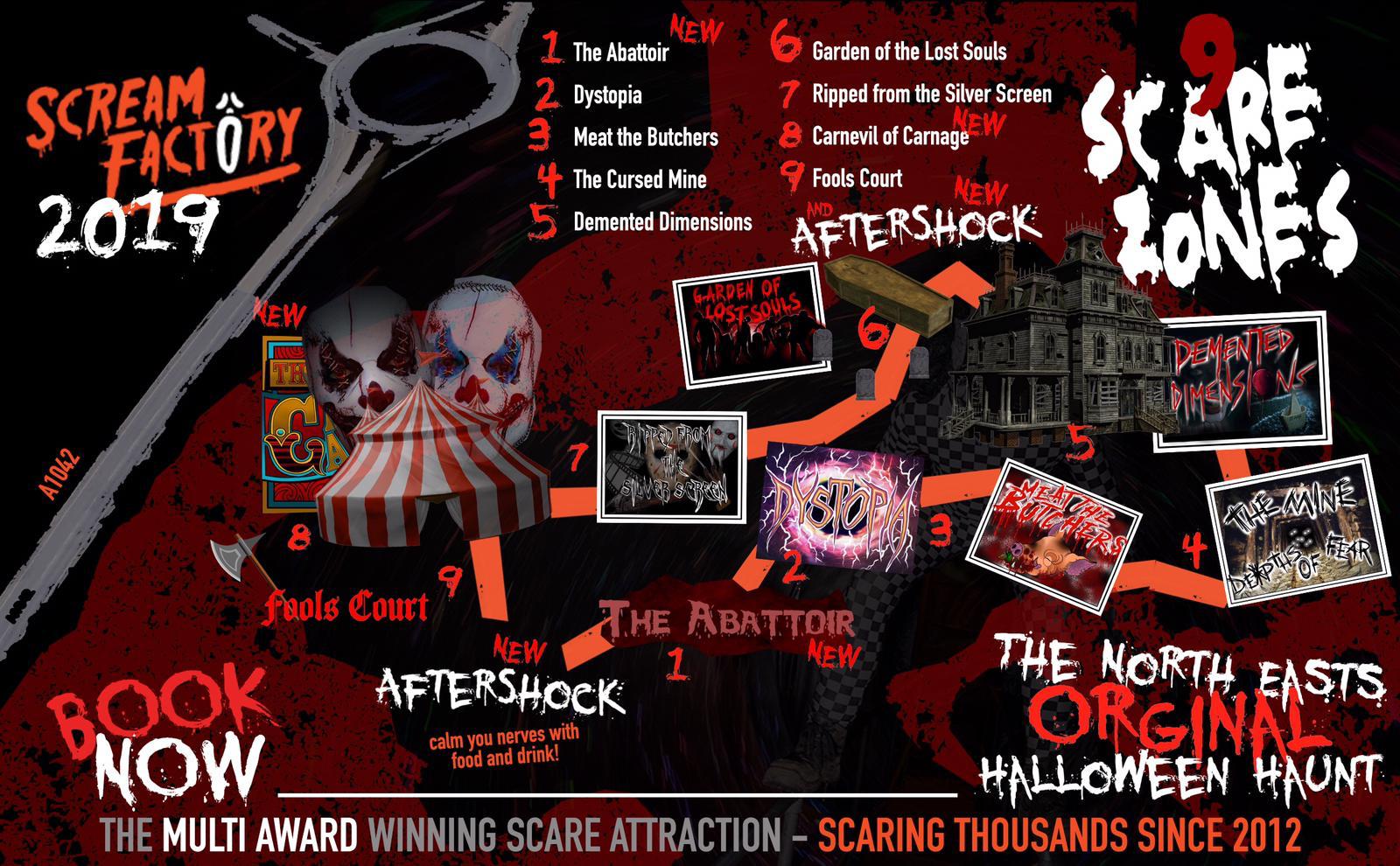 Scream Factory 2019 Map