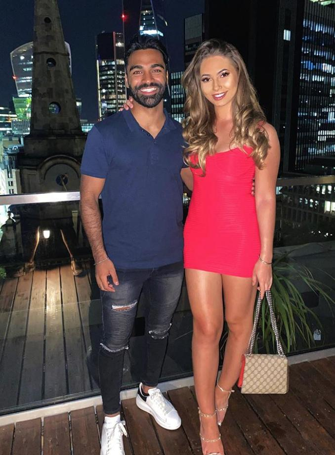 Love Island 2020's Nas and Eva