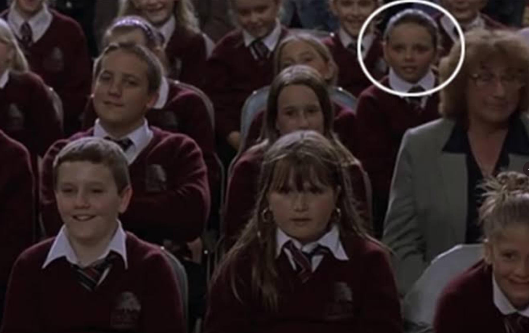 Jesy Nelson in Harry Potter