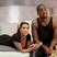 Image 1: Kanye West and Kim Kardashian on bed