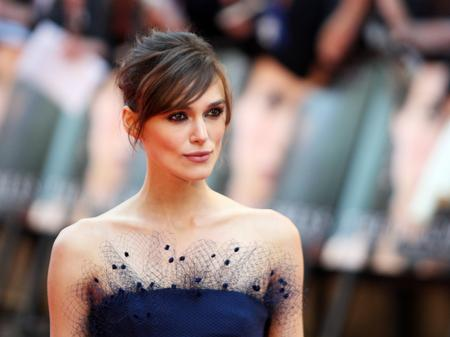 Keira Knightley at the Duchess Premiere