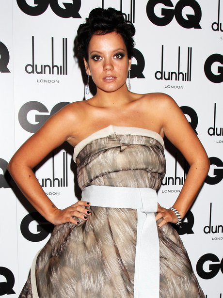 Lily Allen at GQ awards