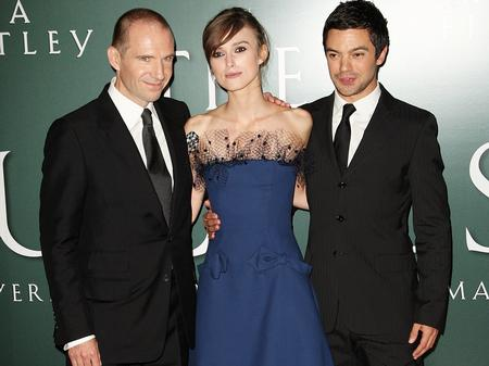 Ralph Fiennes, Keira Knightley & Dominic Cooper