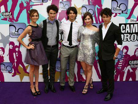 Camp Rock cast on the red carpet