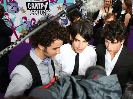 Jonas Brothers on the red carpet