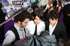 Image 1: Jonas Brothers on the red carpet