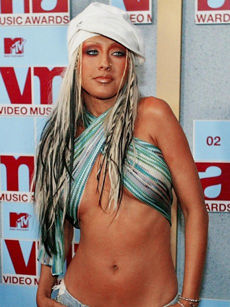 Christina Aguilera promotes her album 'Dirrty'.