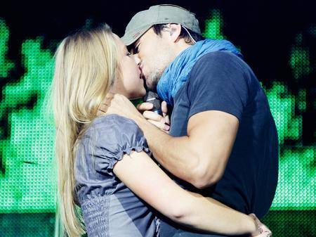 Enrique Iglesias at the Jingle Bell Ball