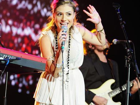 Gabriella Cilmi at Jingle Bell Ball