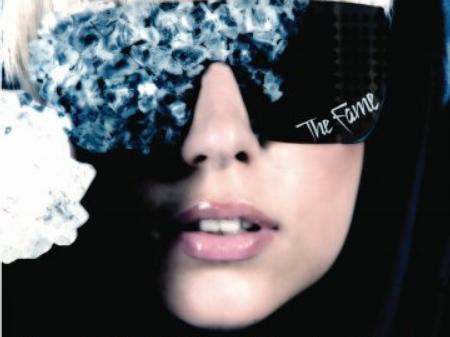 lady gaga, the fame, cd, cover, album, packshot