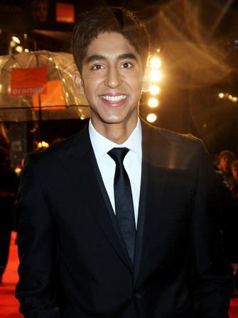 Dev Patel at the BAFTAs 2009