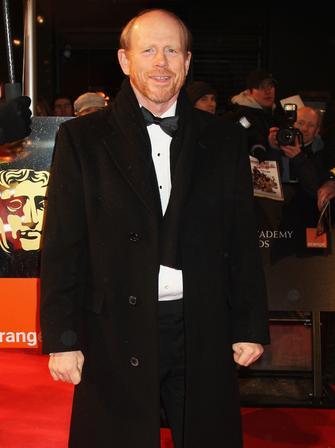 Ron Howard at the BAFTAs 2009