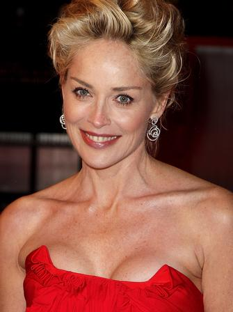 Sharon Stone at the BAFTAs 2009