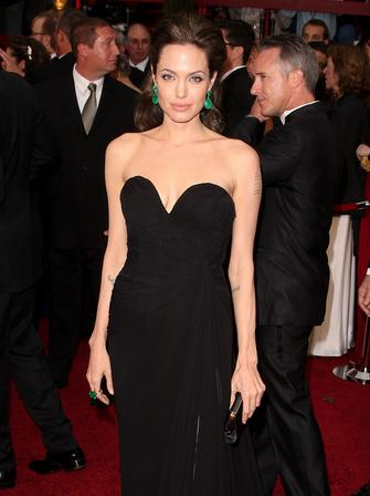 Angeline Jolie at The Oscars 2009