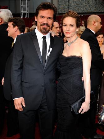 Josh Brolin and Diane Lane at The Oscars 2009