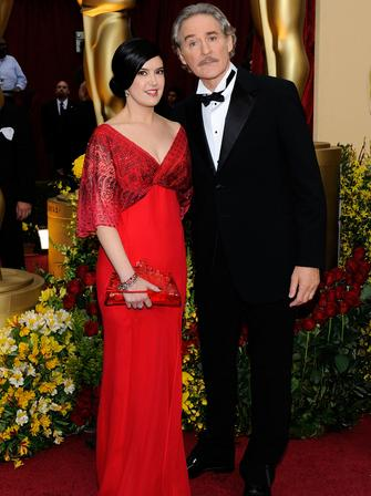 Kevin Kline and Phoebe Cates at The Oscars 2009