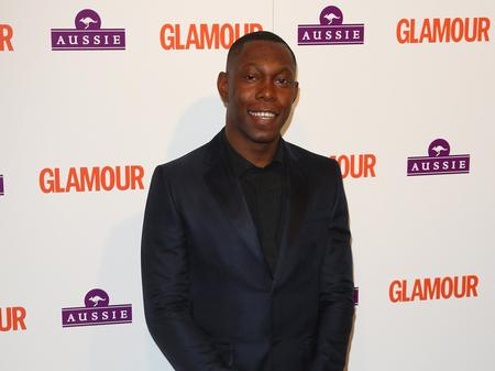 Dizzee Rascal at the Glamour Awards