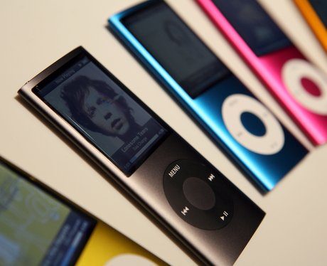 row of ipods