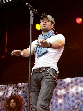 Enrique Iglesias at the Summertime Ball