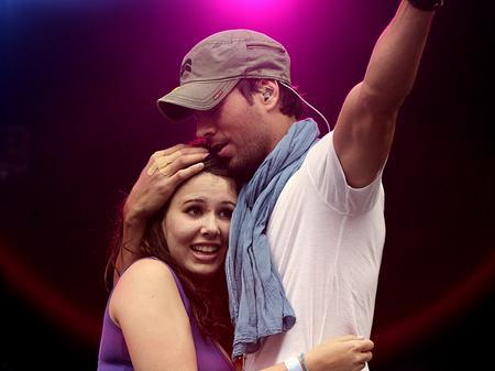 Enrique Iglesias at the Summertime Ball