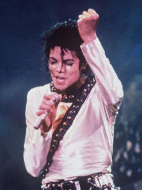 Michael Jackson on stage