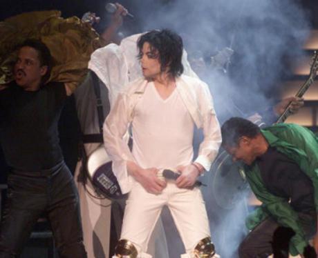 Michael Jackson Brit awards performance 1996