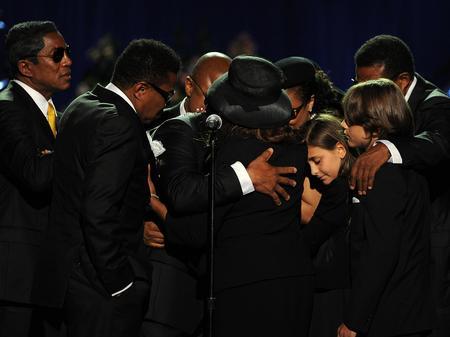 Michael Jackson Memorial Service