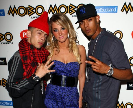 N-Dubz at the MOBOs launch