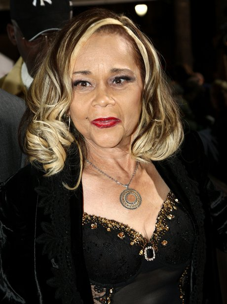 Etta James on the red carpet