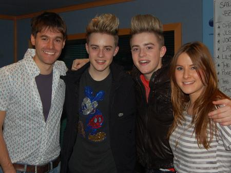 Jedward at Capital
