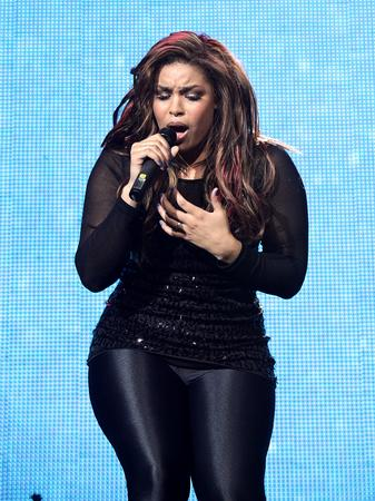 Jordin Sparks at the Jingle Bell Ball