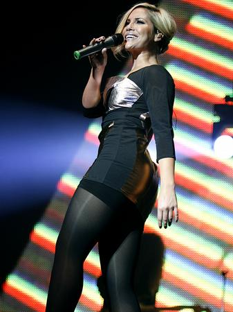 Sugababes on stage at the Jingle Bell Ball