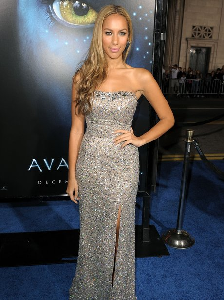 Leona Lewis on the red carpet